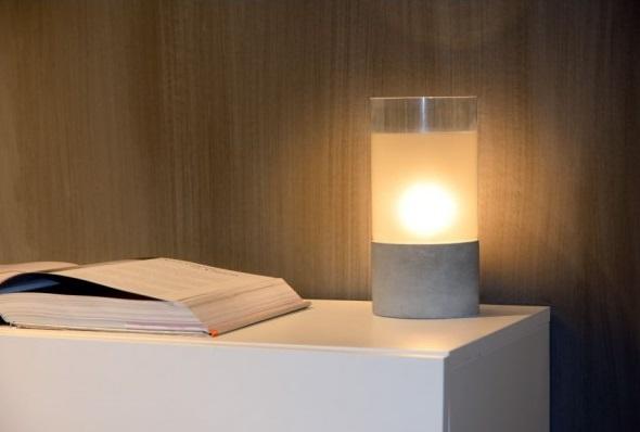 lampe-beton-kenn-lucide